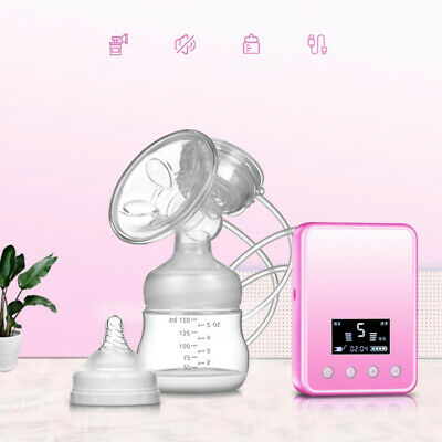 Automatic Silicone Smart Electric Breast Pump Nipple Suction Milk Safety