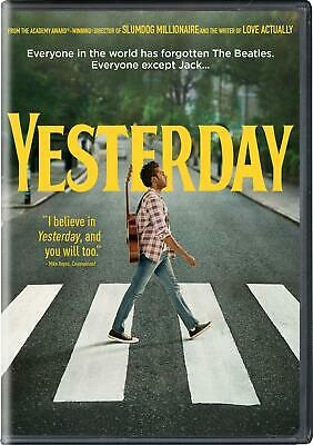 Yesterday DVD Brand New Factory Sealed ***FREE SHIPPING***