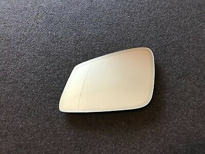 TO FIT AUDI A6 1994-1999  BLUE WING MIRROR GLASS DIRECT CLIP HEATED RIGHT SIDE