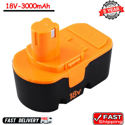 Replace for Ryobi 18V 18 Volt Battery  Ni-Mh One+ P100 P101 ABP1801 3.0Ah tool