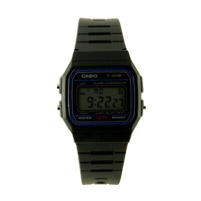 Reloj de Pulsera Casio F-91W Digital LCD My-montre