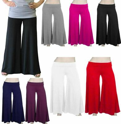 Kids Stretch Flared Party Wear Pants Childrens Wide Leg Trouser Summer Palazzo
