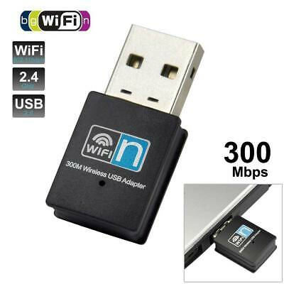 Mini antena WIFI USB adaptador 802.11 B/G/N Wireless 300 Mbps Mini LAN WI-FI
