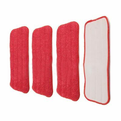 Replacement fiber Pads Spray Water Spraying Flat Dust Mop Floor Cleaner A3H9