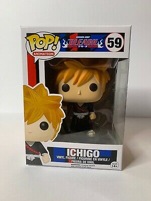 Funko Pop Animation Bleach Ichigo #59 Vaulted Retired Rare Not Mint Box