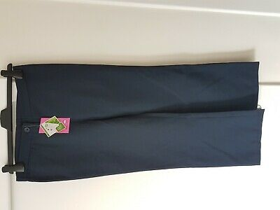 New With Tag Debenhams Back to School girls adjustable waist Trouser Age 11 Year