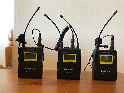Saramonic Two Wireless Transmitters and One Receiver for DSLR & Camcorder Video