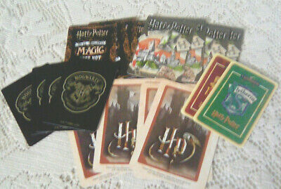 Harry Potter Playing Card Mix #4 - 18 cards - COLLECT / CRAFT / JUNK JOURNALS