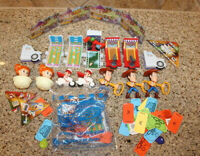 Lot of 2019 McDONALD'S DISNEY TOY STORY 4 HAPPY MEAL TOYS