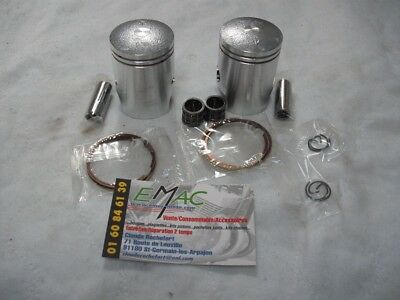 suzuki yamaha 125 as3 125as3 125 gt 125gt gt125 kit pistons complet neuf new