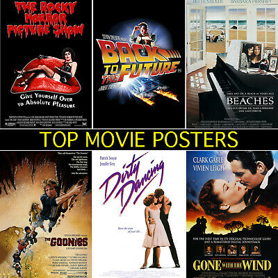 Top Movie Posters - A1, A2, A3, A4, A5