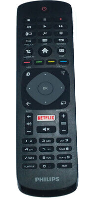 Genuine NETFLIX YOUTUB PHILIPS 39PFL2608//26PFL4907 SMART TV Remote Control OEM