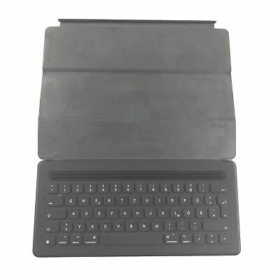 "Apple Smart Keyboard for 12.9"" Inch iPad Pro A1636 Genuine Gray QWERTZ EUROPEAN"