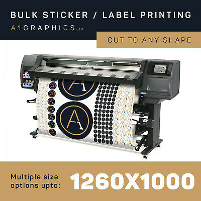 Custom Printed Vinyl Stickers and Labels Personalised Sticker Printing & Design