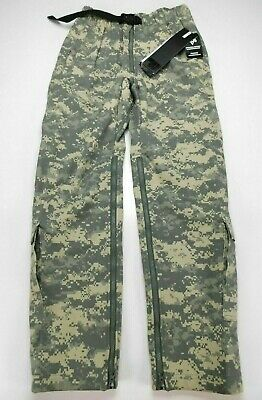 US Military Army ACU Camo Massif Elements FREE IWOL Pants Trouser S R Small NWT