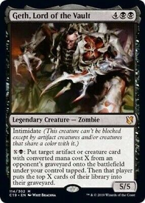 Geth, Lord of the Vault (114/302) - Commander 2019 - Mythic Rare