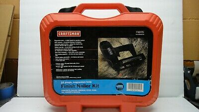 Sears Craftsman Brad nailer kit,case,18 gauge,9 18173,air drive