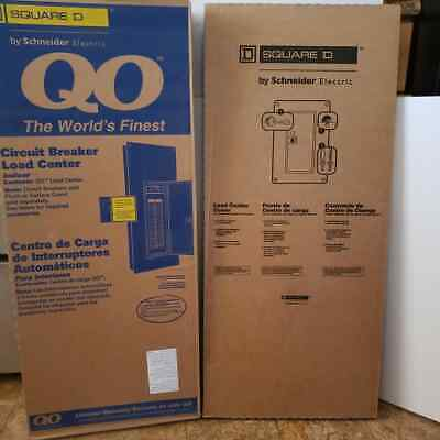 Square D Qo140L200G W/Cover 200A Single Phase Indoor Load Center