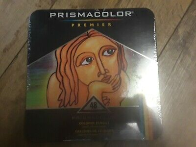 Prismacolor Premier Colored Pencils Soft Core 48 Count New