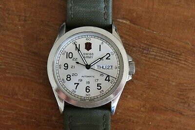 Victorinox Swiss Army Watch Classic Infantry Collection Automatic 25 Jewels