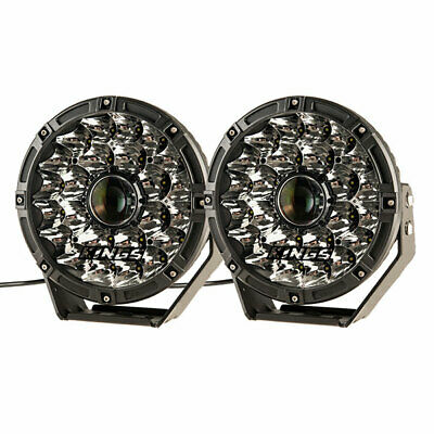 Kings 8.5inch Laser Driving Lights (pair) Offroad 4x4 Car Spot Round LED