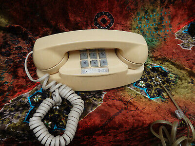 Western Electric Beige PRINCESS 2702-BM Touchtone Telephone