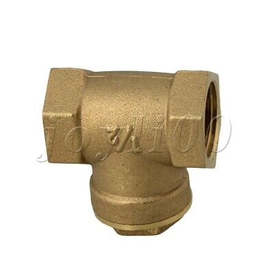 1/2Inch BSPP Brass Swing Check Valve Two-way Type for Water Backflow Prevention