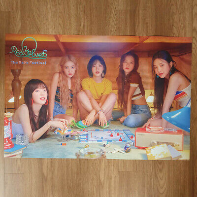 [Poster Only] Red Velvet The ReVe Festival Day2 Kihno Hard Case Packing Kpop