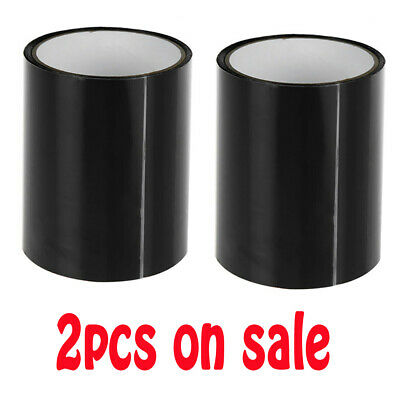 "2pcs 4"" x 5' Super Strong Tape Patch Bond Rubberized Waterproof Seal Repair Tape"