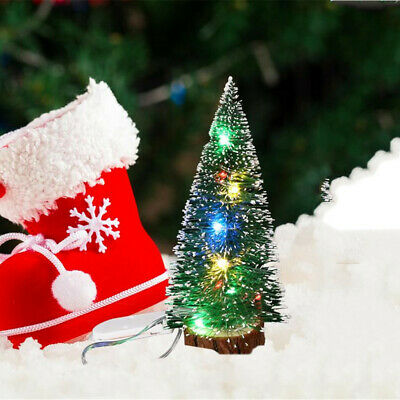 Christmas Decorations Desktop Decoration With LED Lights Mini Christmas Tree