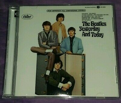 """The Beatles """"Yesterday And Today"""" CD W/Butcher Slick! Mono+Stereo 22 Tracks!"""