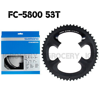 Shimano 105 FC-5800 Outer//Inner Chainrings 52T /& 36T Genuine NIB