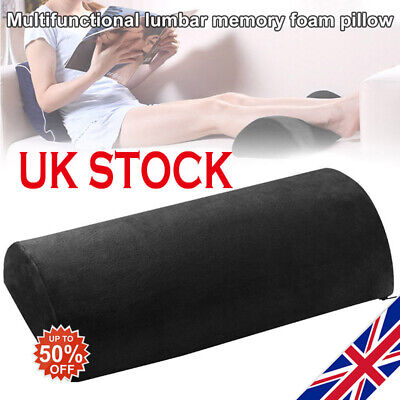 23/'/' Round Cervical Pillow Roll Memory Foam Neck Lumbar Bolster Washable  UK