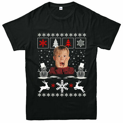 Home Alone Xmas T-Shirt, Kevin Mccallister Xmas Gift Adult & Kids Tee Top