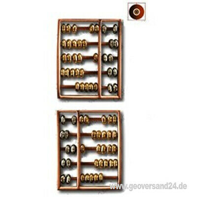 Abacus Cache Counter 3Tone - Antique Copper  Geocaching Trackable GEschenk