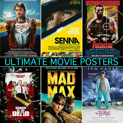 Ultimate Movie Posters - A1, A2, A3, A4, A5