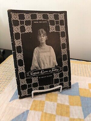 Corticelli Lessons in Tatting by Nellie Ellison 1916 Softcover