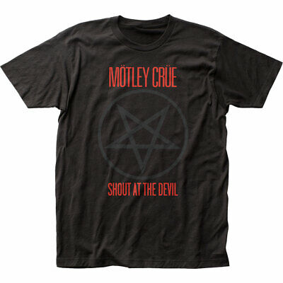 Motley Crue Shout At The Devil Fitted Jersey T-Shirt