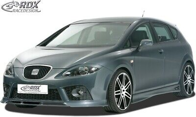 RDX Racedesign RDFA103 Front Spoiler Seat Leon 5F SC//5-doors//ST Facelift 2017-excl ABS Glossy Black FR//Cupra