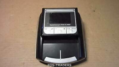 CashConcepts CCE-112-NEO Counterfeit Money Detector EUR + GBP + CHF + PLN + HUF