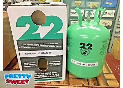 R22 R-22 Refrigerant 10 lb Cylinder, Virgin Pure (Made in USA) Free Shipping #1
