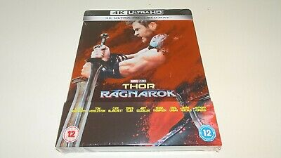 THOR RAGNAROK STEELBOOK - 4K Ultra HD + Blu-ray UHD Brand New Still Sealed