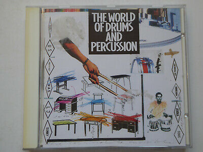 VARIOUS <>  The World Of Drums  <> NM (CD)