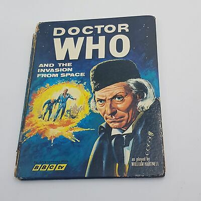 Doctor Who & THE INVASION FROM SPACE Annual (1966) World BBC TV HB Book