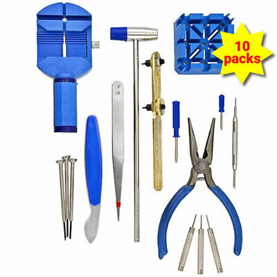 GGI Deluxe 16-piece Watch Repair Tool Kit WTK-16 [Watch] (10 pack)