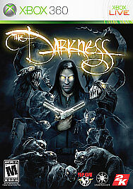 The Darkness (Microsoft Xbox 360, 2007) COMPLETE FAST SHIPPING 2K GAMES NTSC