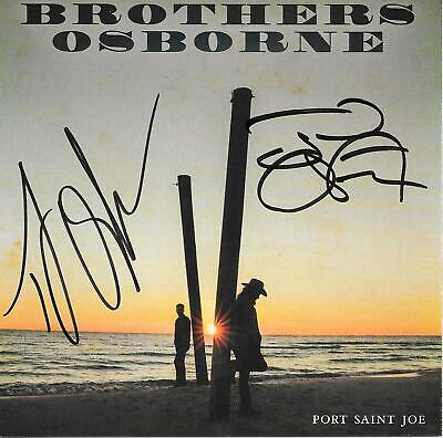 Port Saint Joe CD and Guaranteed Autographed CD booklet by Brothers Osborne