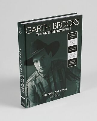 Garth Brooks The Anthology Part 1 Book & 5 Music CD Set