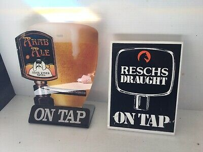 Reschs Draught  Sign Arab Ale Steed Perpex