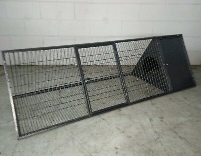 Brand New Triangle Metal Rabbit Guinea Pig Ferret Hutch Small animals Cage 170cm